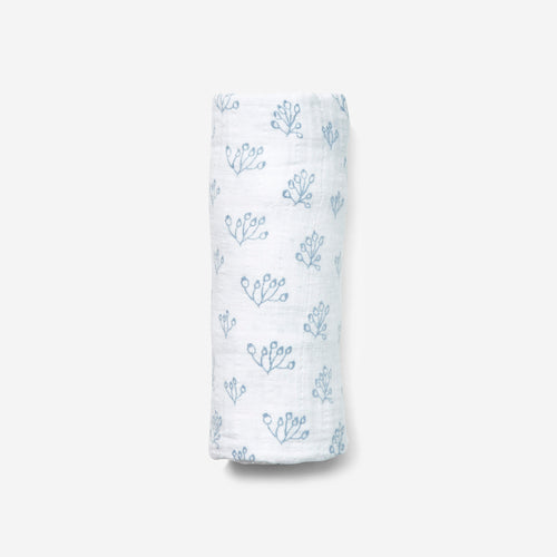 Lewis Swaddle Rose Hip, Bay Blue