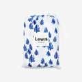 Lewis Swaddle Set Seaweed + Stingray, Marine