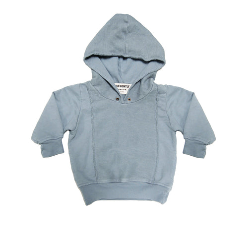 Go Gently Nation Panel Sweatshirt, Mineral Blue