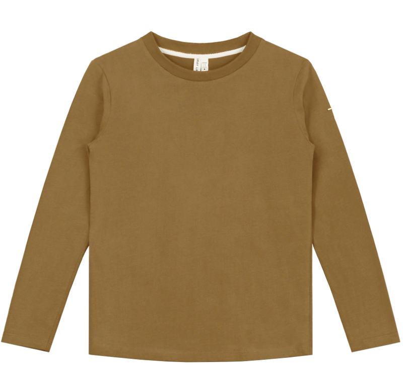 Long Sleeved Tee, Peanut