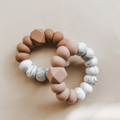 Ella Freezer Teether Marble Accent, Oat