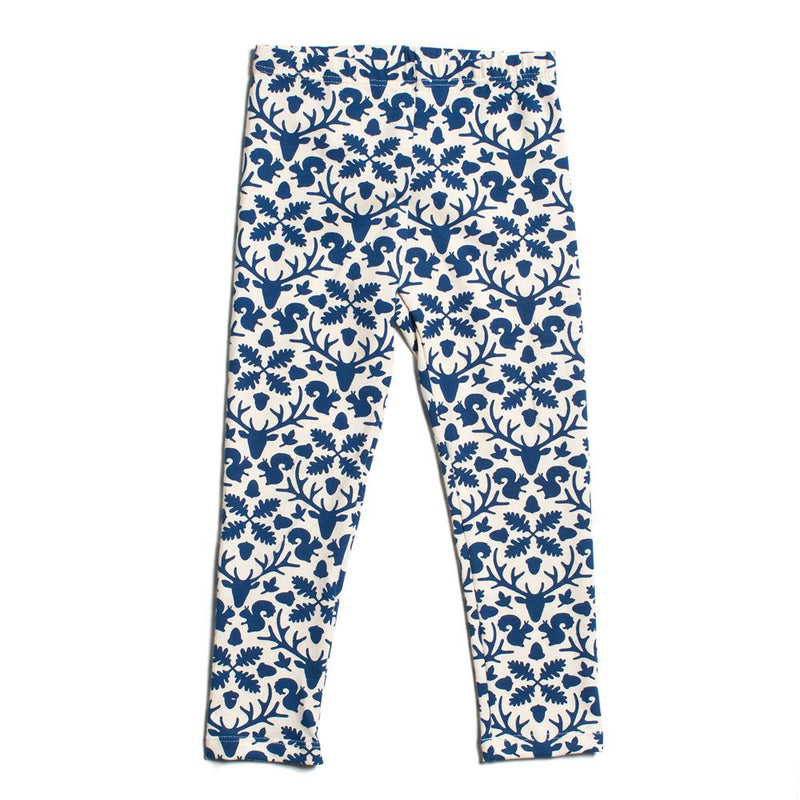 Baby Leggings, Animal Kingdom Navy