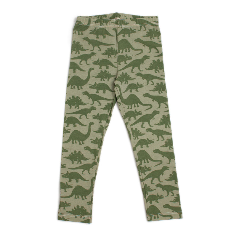 Leggings, Dinosaurs Sage