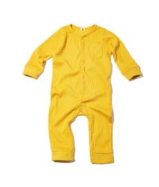 GOAT-MILK Union Suit, Mustard