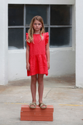 Frilles Dress Love, Clay Red