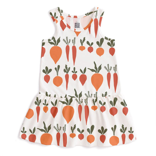 Valencia Dress, Root Vegetables Natural