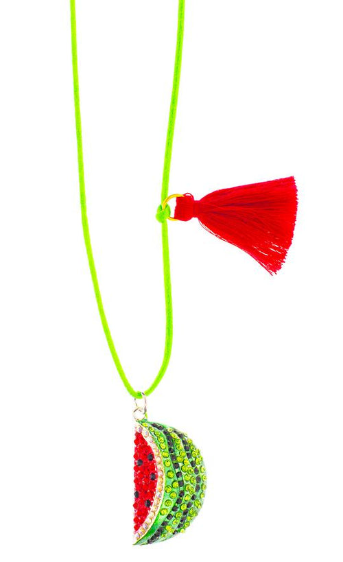 Gunner & Lux Necklace, Watermelon Love