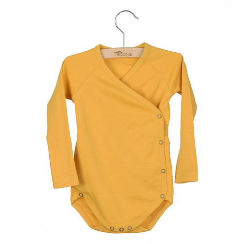 Little Hedonist Romper, Honey Gold