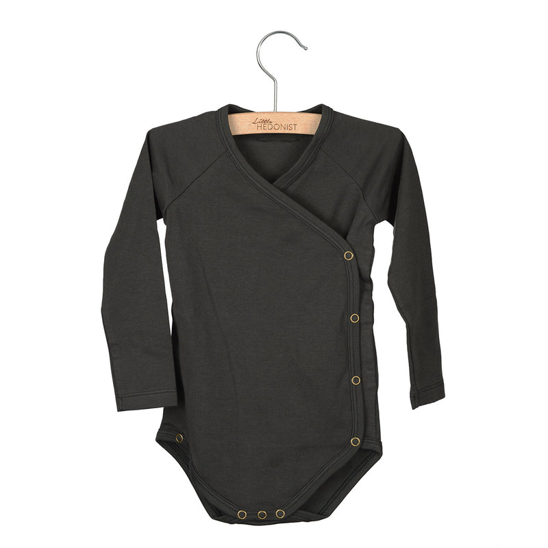 Little Hedonist Romper, Pirate Black