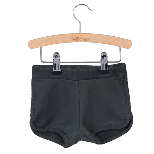 Little Hedonist Gigi Shorts, Pirate Black