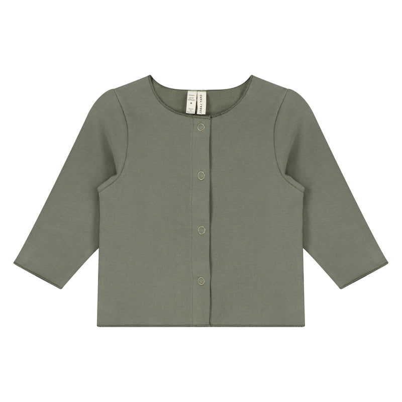 Gray Label Baby Cardigan, Moss