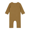 Baby Suit with Snaps, Peanut