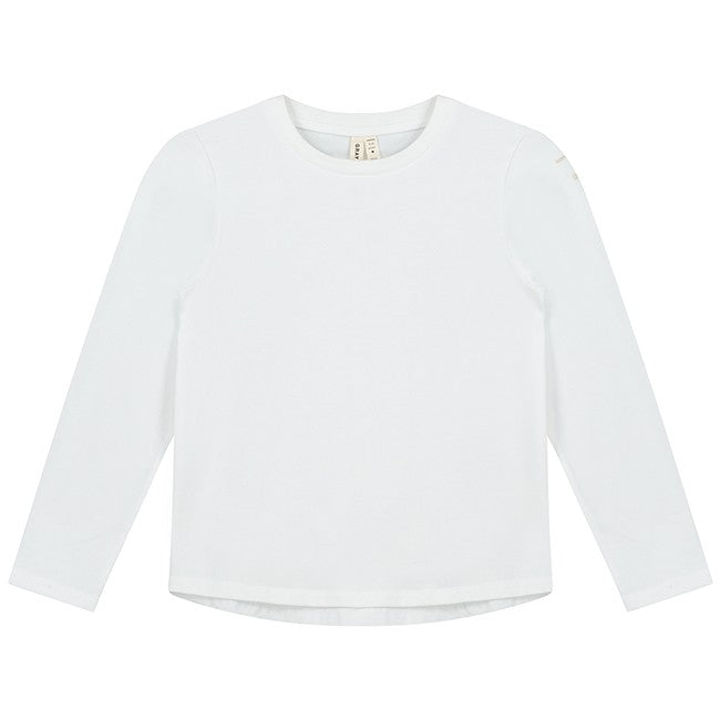 Gray Label Long Sleeve Tee, White
