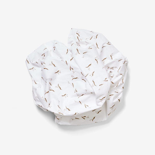 Lewis Crib Sheet - Pods, Wheat