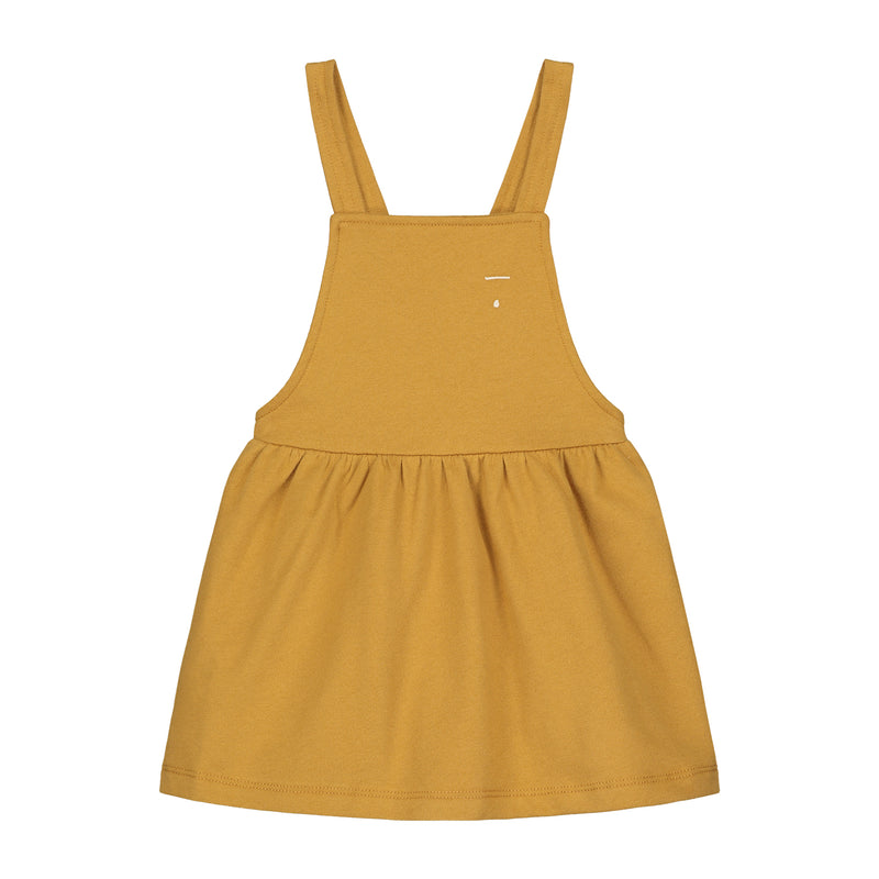 Gray Label Pinafore Dress, Mustard