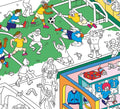 Giant Coloring Poster, Football/Soccer