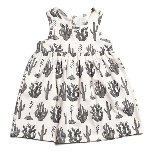 Winter Water Factory Oslo Baby Dress, Cactus Black