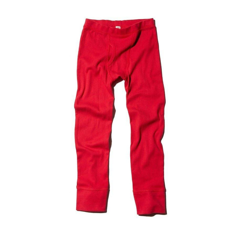 GOAT-MILK Boy's Thermal Pant, Crimson