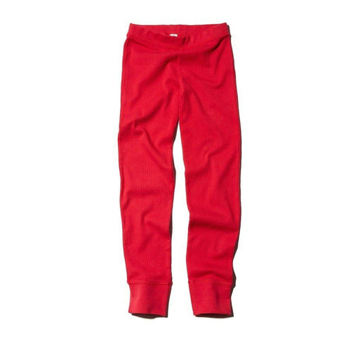 GOAT-MILK Girl's Thermal Pant, Crimson