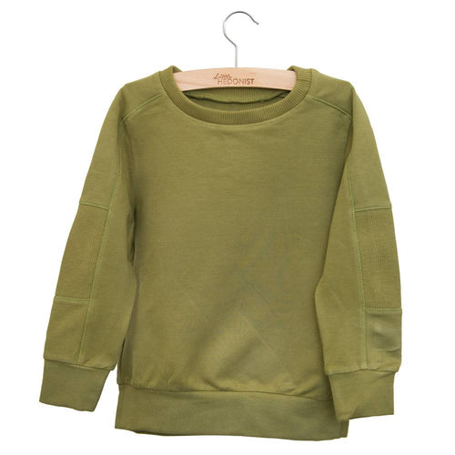 Little Hedonist Sweatshirt, Olive Drab