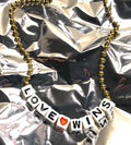 Gunner & Lux Necklace, Love Wins