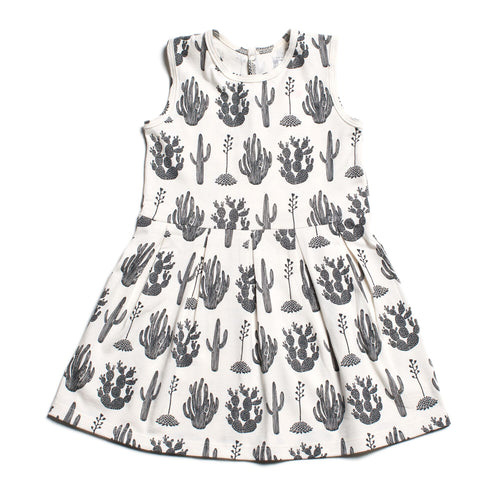 Winter Water Factory Essex Dress, Cactus Black