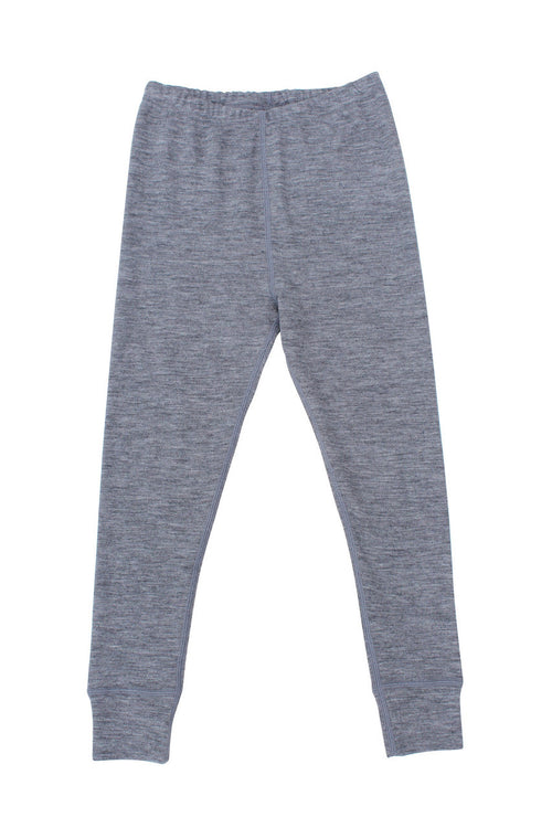 Nui Organics Merino Thermal Leggings, Gray