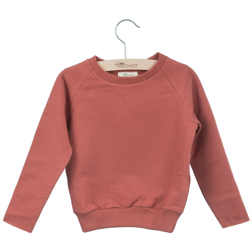 Little Hedonist Sweatshirt, Brick