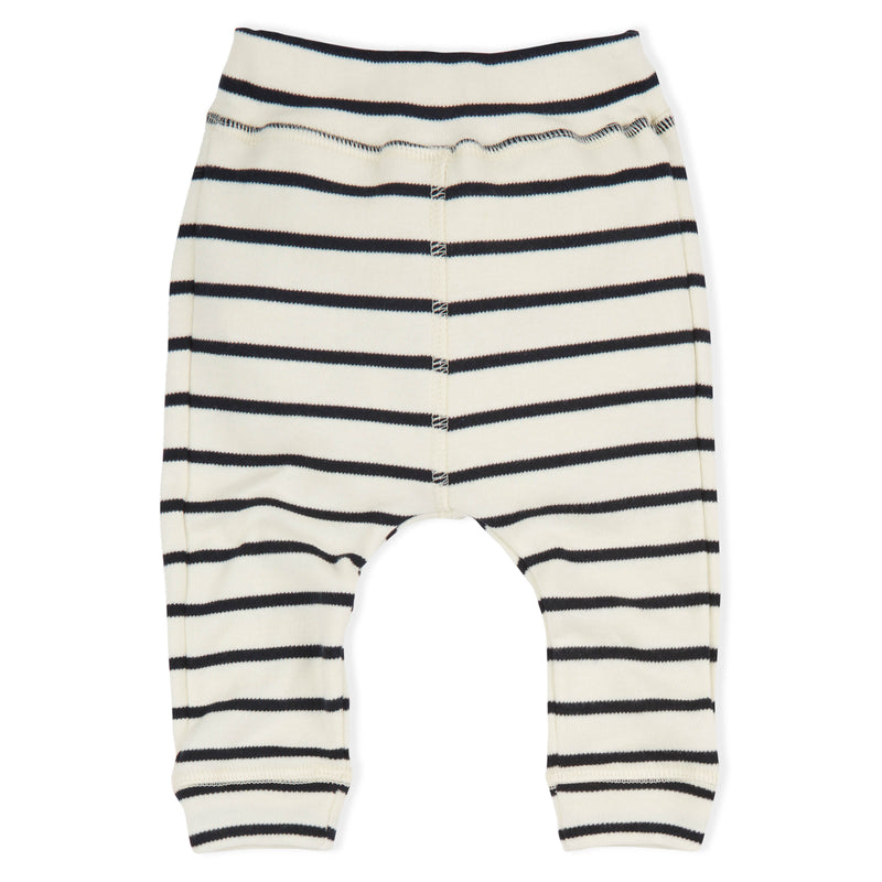 Organic Zoo Pants, Breton Stripes