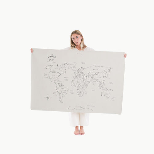 Gathre Mat Mini +, World Map