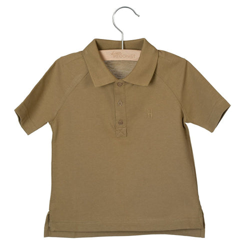 S/s Polo, Max Antique Brown