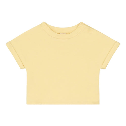 Baby Roll Up Tee, Mellow Yellow