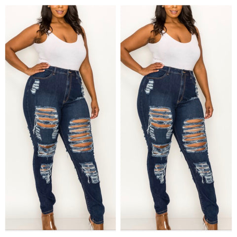 Ripple Effect Jeans