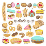 Bakery, Cakes & Pastries