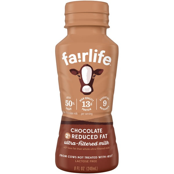 Fairlife 2% Chocolate Milk – 24x240ml – Item # 08038