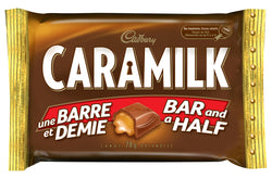 Caramilk King Size Chocolate Bars