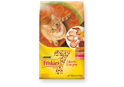 Friskies - 7 Dry Cat Chick Beef Turky Salm Tuna Shrmp Cheese