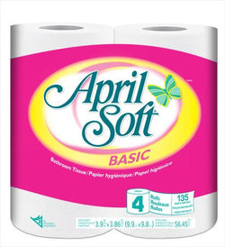 April Soft - Basic - Bathroom Tissue 4S