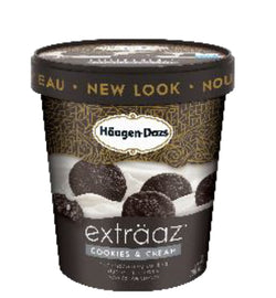 HAAGEN-DAZS Extraaz Cookies & Cream – 8x500ml – Item# 12321958