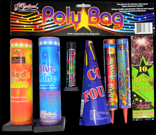 Mystical Fireworks Poly Bag - 1ct - MSRP $20.00 - Item# 16735-3