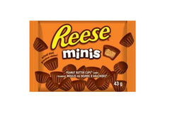 Reese Minis Peanut Butter Cups - Hershey - 24/43g - Item # 73140