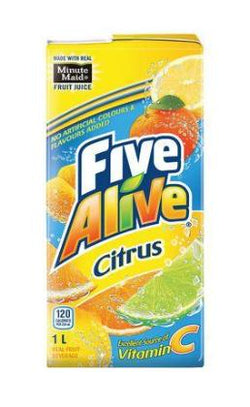 Minute Maid Five Alive Citrus Tetra 4 10x200ml Item 22889