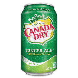 Canada Dry Gingerale 24Pack - 24/355ml - Item# 24296