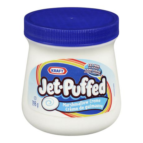 Kraft - Jet Puff Marshmallows Creme - 12/198g - Item # 28311