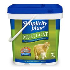 Simplicity Multi-Cat Litter - 1/7 kg - Item # 35226