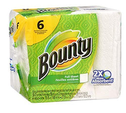 Bounty Full Sheet 6 Roll 36 Ct - 4/6roll - Item # 46909
