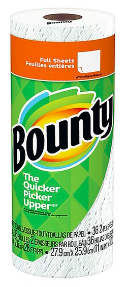 Bounty Full Sheet Single Roll 36Ct - 30/1roll - Item # 46911