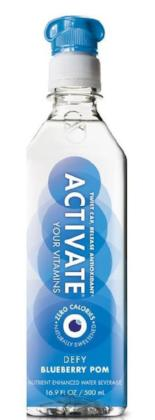 Activate Fresh Vitamin Water - Blueberry Pomegranate - 12/500ml - Item # 60060