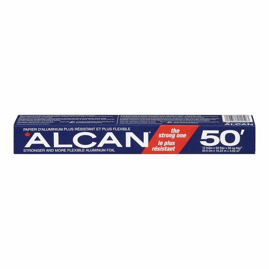 Alcan - Foil Wrap 12in x 50ft - 24/12in x 50ft - Item # 53204