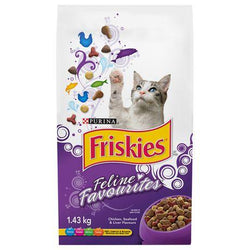 Friskies - Feline Favourites - 6/1.43Kg - Item # 35590